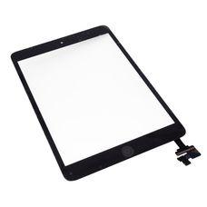 Тачскрин iPad mini (сенсорное стекло, Touchscreen) ЧЕРНЫЙ кнопка HOME + коннектор