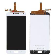 Дисплей ASUS Zenfone 4 Max ZC554KL Белый (экран + тачскрин, стекло)