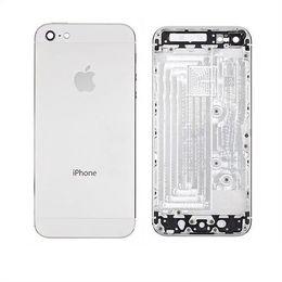 Задняя крышка (корпус) iPhone 5 (белая)