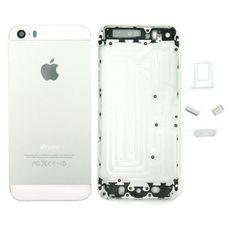 Задняя крышка (корпус) iPhone 5s (белая) ОРИГИНАЛ