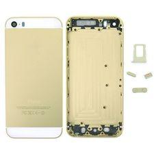 Задняя крышка (корпус) iPhone 5s (золотая) ОРИГИНАЛ