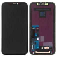 Дисплей iPhone 11 черный (в сборе, модуль)
