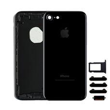 Корпус iPhone 5 в стиле iPhone 7 серый / черный