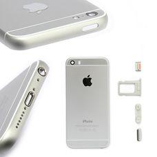 Корпус iPhone 5 в стиле iPhone 6S белый (серебро)