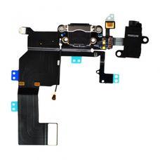 Шлейф iPhone 5c ОРИГИНАЛ разъем зарядки (коннектор) + аудио разъем гарнитуры + микрофон