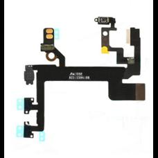 Шлейф iPhone 5s кнопка включения (on off) + кнопки громкости + виброрежим ОРИГИНАЛ