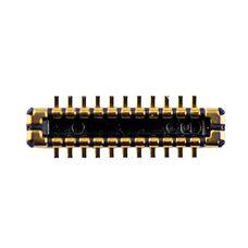 Разъем дисплея на плату iPhone 5S (коннектор)