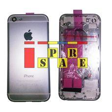 Корпус iPhone 5S в стиле iPhone 6 белый / серебро