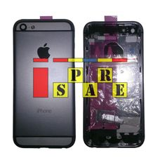 Корпус iPhone 5 в стиле iPhone 6 серый / черный