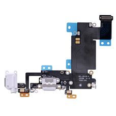Шлейф iPhone 6s Plus разъем зарядки (белый) ОРИГИНАЛ