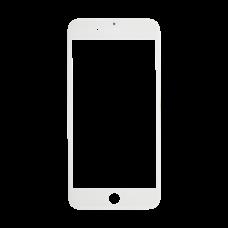 Стекло iPhone 7 Plus белое (олеофобное покрытие)