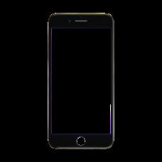 Стекло iPhone 7 Plus черное