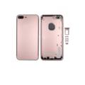 Задняя крышка iPhone 7 Plus корпус розовая / красная