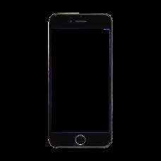 Стекло iPhone 7 черное (олеофобное покрытие)