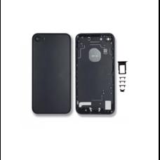 Задняя крышка iPhone 7 корпус черный ГЛЯНЦЕВЫЙ