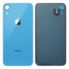 Задняя крышка iPhone XR Синяя (стеклянная)