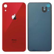 Задняя крышка iPhone XR Красная (стеклянная)