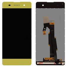 Дисплей Sony Xperia XA, XA Dual F3111 F3112 ЗОЛОТОЙ, БРОНЗОВЫЙ (экран + тачскрин, стекло)