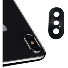 Кольцо основной камеры iPhone X (объектив) черное