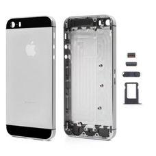Задняя крышка iPhone 5SE (черная) ОРИГИНАЛ