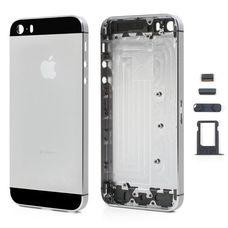 Задняя крышка (корпус) iPhone 5s (черная)