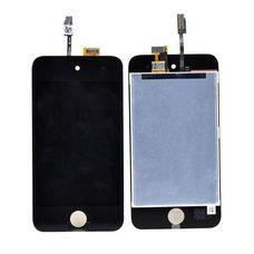 Дисплей iPod Touch 4 (модуль, в сборе) черный