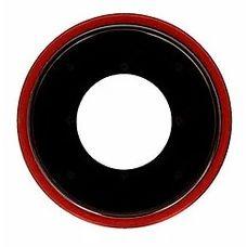 Кольцо основной камеры iPhone XR Красное (стекло)