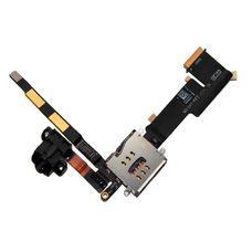 Шлейф iPad 2 3G разъем гарнитуры (аудио джек) + SIM коннектор