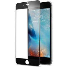 Защитное стекло 3D iPhone 6+/6S PLUS ЧЕРНОЕ в рамке Full Frame