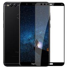 Защитное стекло / пленка 3D Huawei Honor 7X Frame Full Glue (черное)