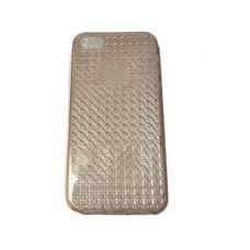 Силиконовый чехол для iPhone 5 5s 5c РОЗОВЫЙ (с узором)