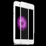 Защитное стекло 3D iPhone 7 / 8 БЕЛОЕ в рамке Full Frame