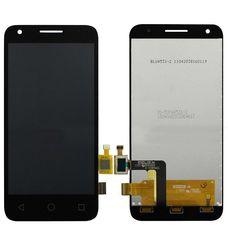 Дисплей Alcatel Pixi 3 4027D 5017D 5019D 5017X Черный (экран + тачскрин, стекло)