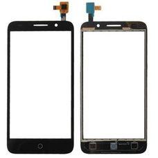 Тачскрин Alcatel OT 5015D 5015X Pop 3 черный (сенсорное стекло)