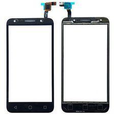Тачскрин Alcatel OneTouch 5045D (Pixi 4) черный (Touchscreen)