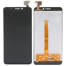 Дисплей Alcatel IDOL S 6035R 6034R, МТС 978 Черный ОРИГИНАЛ (модуль в сборе)