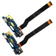Разъем зарядки (плата шлейф) ASUS Zenfone 3 MAX Laser ZC520TL + микрофон + вибромотор