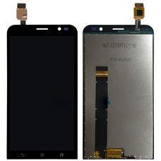 Дисплей ASUS Zenfone Go ZB551KL черный (экран + тачскрин, стекло)