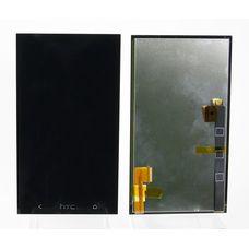 Дисплей HTC ONE Dual 802w черный (модуль, в сборе) ОРИГИНАЛ