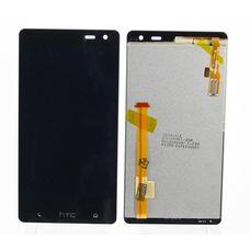 Дисплей HTC DESIRE 600 dual sim (606w) черный (в сборе, модуль)