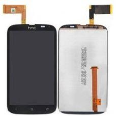 Дисплей HTC DESIRE X (T328e) черный (в сборе, модуль)