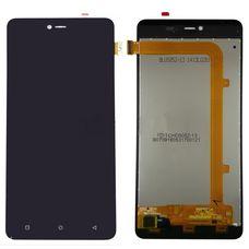 Дисплей Highscreen Power Rage Черный (экран + тачскрин, стекло)