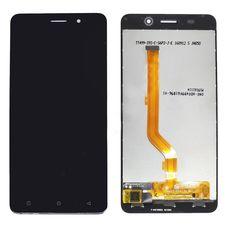 Дисплей Highscreen Power Rage EVO Черный (экран + тачскрин, стекло)