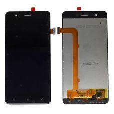 Дисплей Highscreen Tasty Черный (экран + тачскрин, стекло)