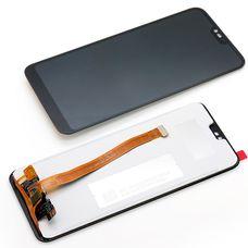 Дисплей Huawei Honor 10 COL-L29 Черный (экран + тачскрин, стекло)