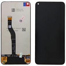 Дисплей Huawei Nova 4 Черный (экран + тачскрин, стекло)