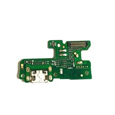 Разъем зарядки Huawei Honor 8 LITE на плате микрофон, micro USB