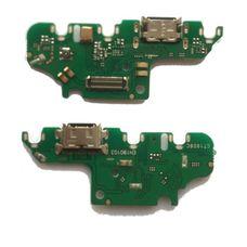 Разъем зарядки Huawei Honor NOVA 4 на плате микрофон, micro USB