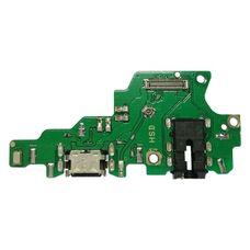 Разъем зарядки Huawei Honor PLAY на плате микрофон, micro USB, разъем гарнитуры