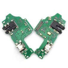 Разъем зарядки Huawei Honor 8X (JSN-L21) на плате микрофон, micro USB, разъем гарнитуры
